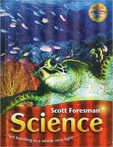 Scott foresman science book grade 6